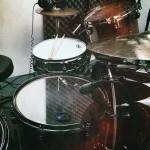Schlagzeugaufnahme mit Jimmy Slick