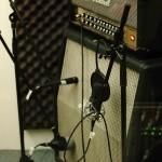 Gitarrenaufnahmen mit Jimmy Sllick