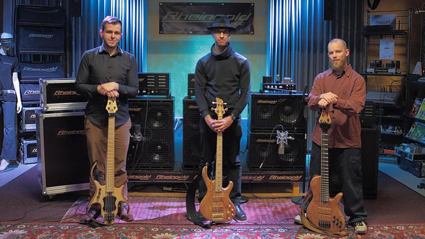 Christopher Bolte, Zsolt Varadi and Mischa Marcks