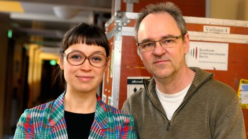 Natalia Mateo & Ulf Drechsel (Photo: RBB)
