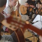 Gitarren aufnahmen an der Musikschule Schaumburger Märchensänger