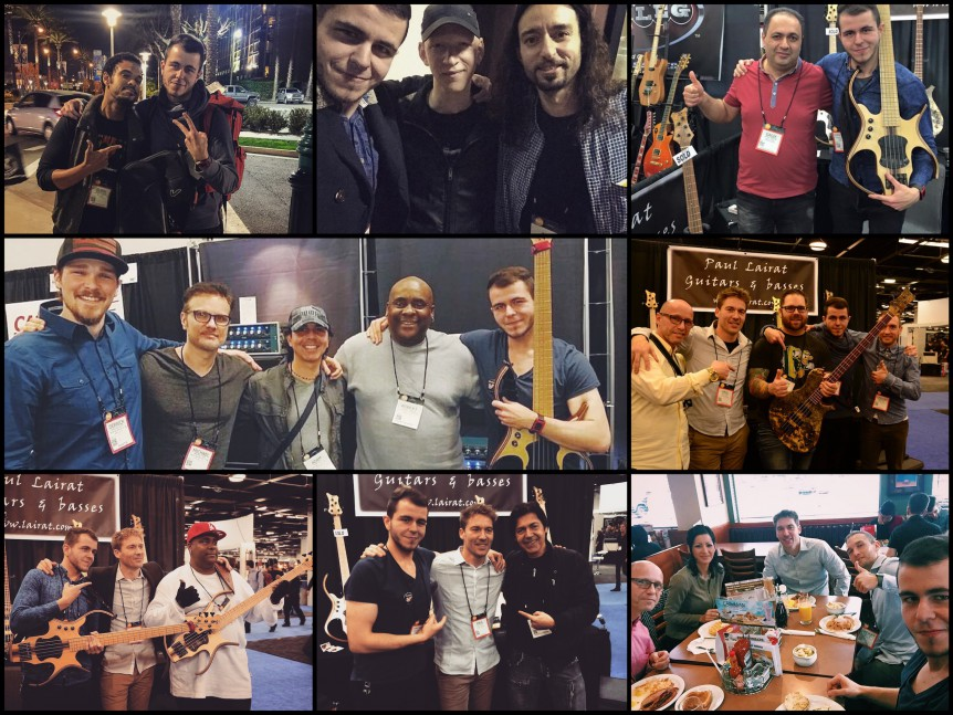 NAMM 2016 Collage Christopher Bolte